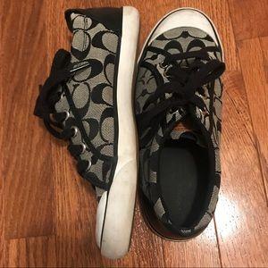 Coach Signature Black Sneakers